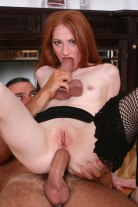 Anal, Ass, Blowjob, Couple, Cumshot, Dildo, Hardcore, Heels, Pantyhose and Redhead 2257 Adult Photo Set LKH P003